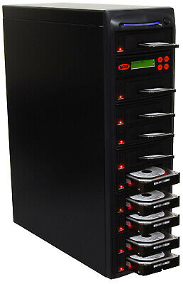 "SySTOR 1:9 SATA 3.5"" 2.5"" Hard Disk Drive HDD/SSD Duplicator Cloner Wipe-90MB/s"