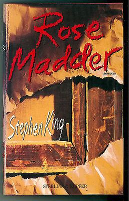 KING STEPHEN ROSE MADDER SPERLING & KUPFER 1996 NARRATIVA PRIMA EDIZIONE