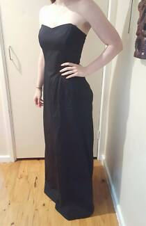 Vintage 90s French Made Formal Dress