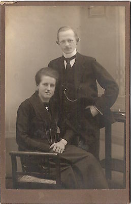 CAB photo Feines Paar - 1910er