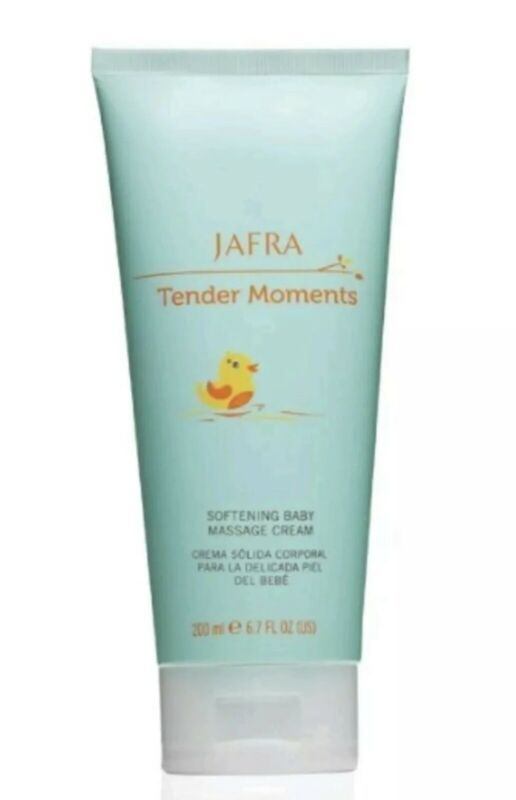 Jafra Tender Moments  (LOT OF 3) Softening Baby Massage Cream