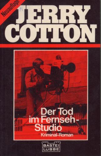 JERRY COTTON Der Tod im Fernseh-Studio TB