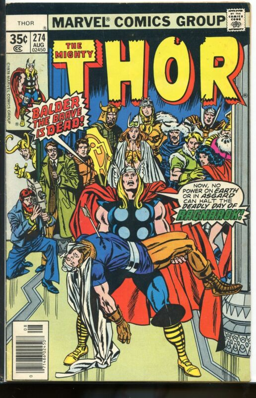 Thor #274 VG/FN Huge Estate Sale Auction Going on Now! B36