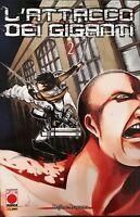 Manga - L'attacco Dei Giganti N° 2 Seconda Ristampa Planet Manga Italiano Nuovo -  - ebay.it