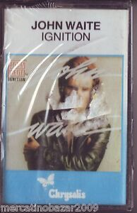 JOHN-WAITE-Ignition-1982-MC-TAPE-ORIGINALE-NUOVA-SIGILLATA