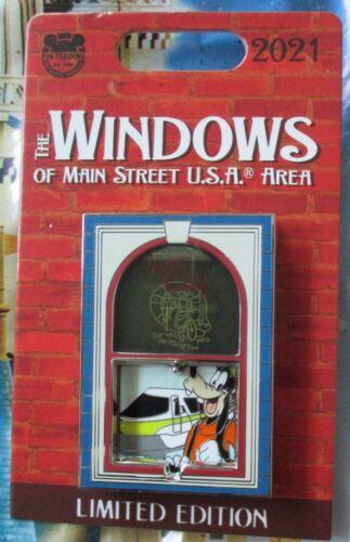 DISNEY- the Windows of Main Street GOOFY Meteor Cycle Bob Gurr Pin - LE