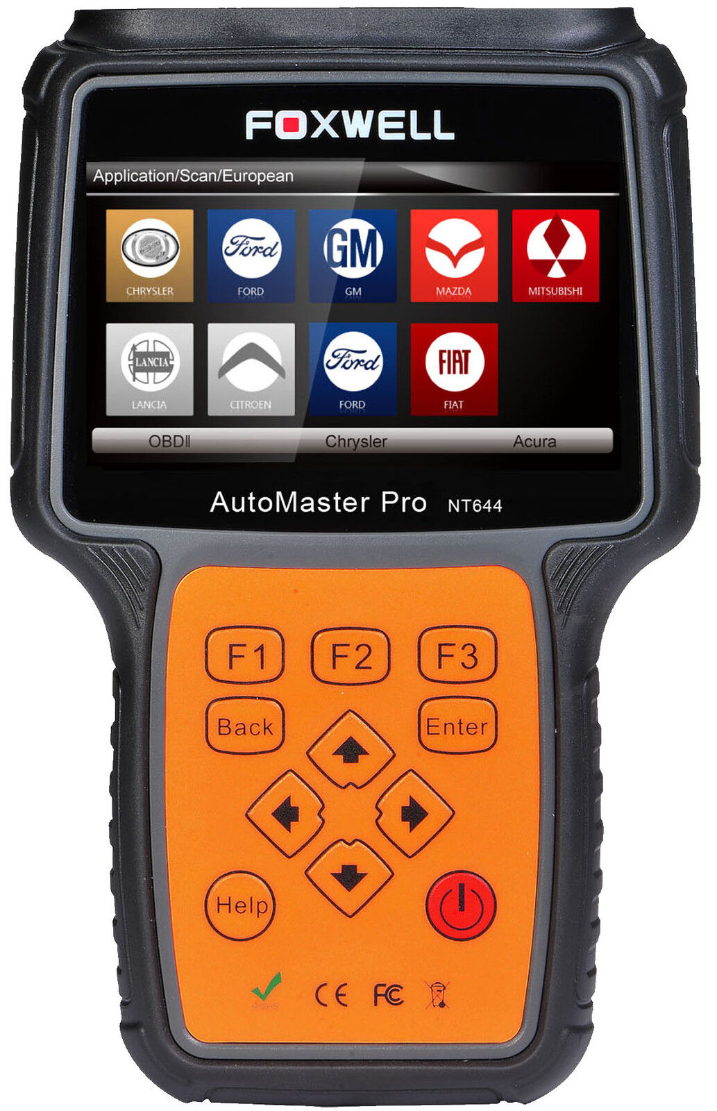 For BUGATTI NT644 PRO UNIVERSAL ALL SYSTEMS DIAGNOSTIC SCANNER READER FOXWELL