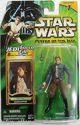 Star Wars Power of the Jedi Han Solo Bespin Capture Hasbro A