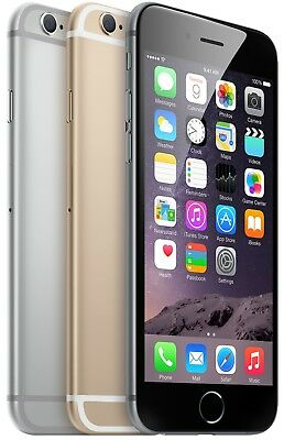 iPhone 6 - (UNLOCKED ATT MetroPCS T-Mobile) | Gray Gold Silver | 16GB 64GB 128GB
