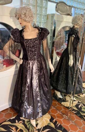 Victorian Elisabethen Renaissance Faire Comicon Costume Dress Gown 12/14