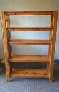 Wooden Bookshelf Taringa Brisbane South West Preview