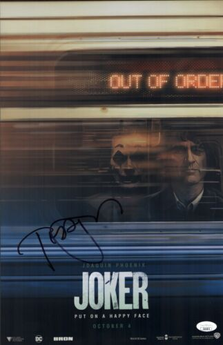 TODD PHILLIPS Signed 11x17 Photo JOKER In Person Autograph Director JSA COA