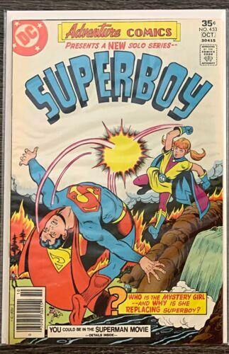 ADVENTURE COMICS PRESENTS SUPERBOY #453 DC COMICS 1977 VF