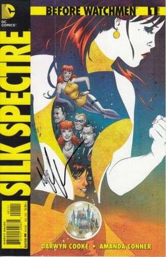 MALIN ACKERMAN signed (SILK SPECTRE) Before Watchmen Comic book #1 of 4 W/COA