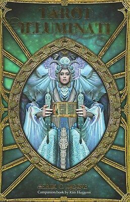 ILLUMINATI TAROT KIT Deck Card Book Set pagan wicca witch fortune oracle cards