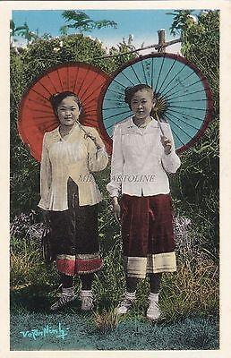 LAOS - Xieng-Khouang - Jeunes Filles Laotiennes