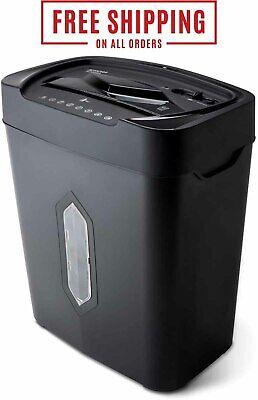 Wastebasket 5.2 Gallon Heavy Duty Paper Shredder 12 Sheet Cross Cut Ultra Quite