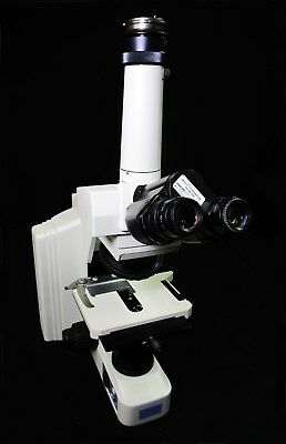 Nikon Eclipse E600 Microscope And Light Source