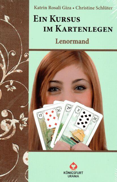 LENORMAND - Ein Kursus im Kartenlegen - Katrin Rosali Giza BUCH - NEU