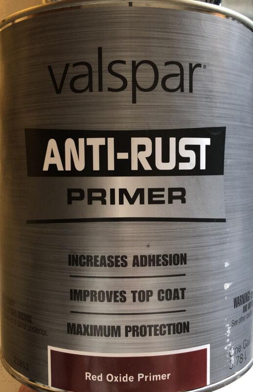Valspar Anti Rust Armor Alkyd Primer, #044.0021851.005,  1 Gallon Red Oxide