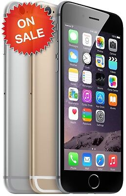 Apple iPhone 6 (Factory Unlocked) AT&T Verizon T-Mobile LTE 4G GSM Metro & More