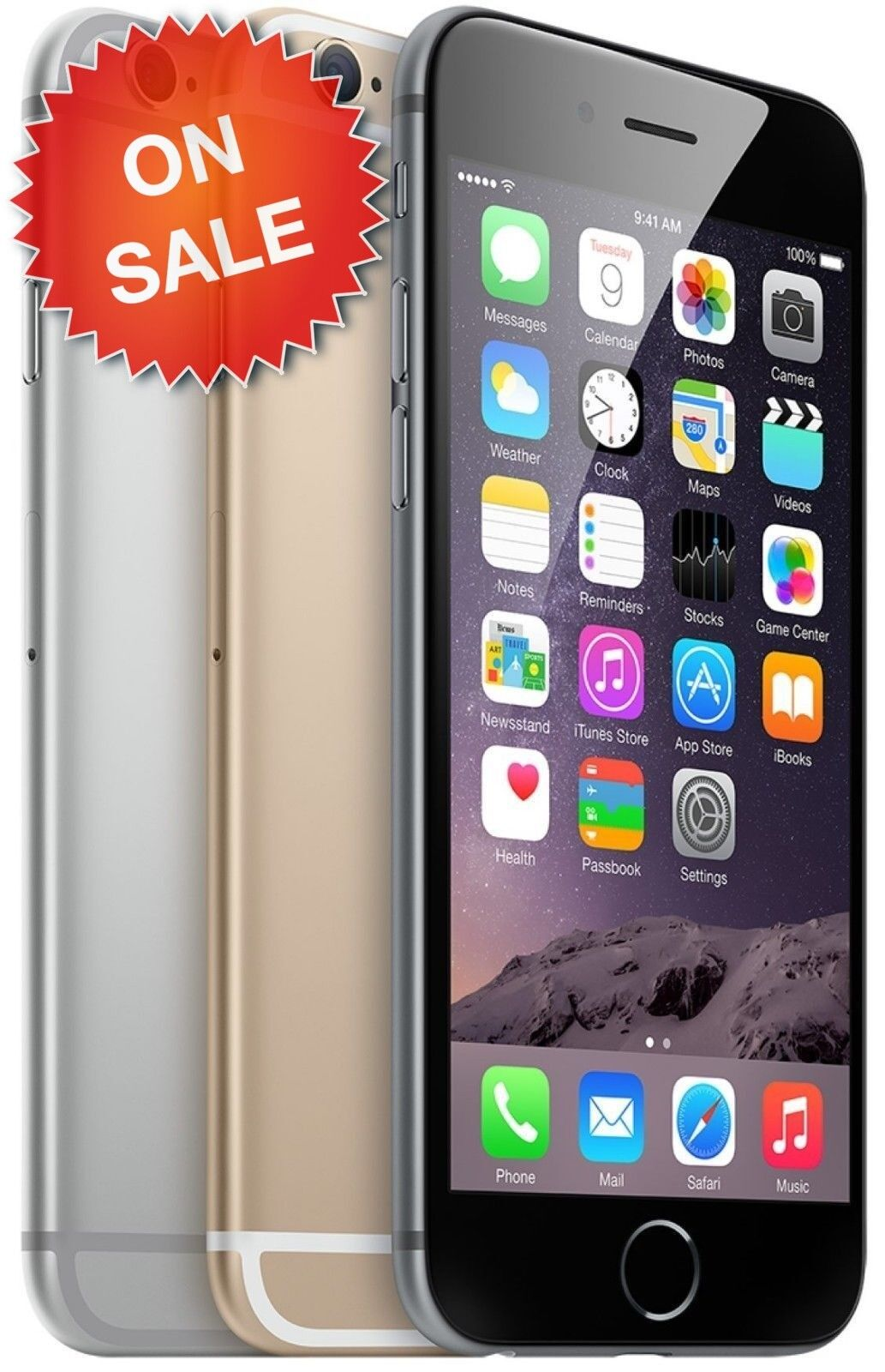Apple iPhone 6 | Choose Your Carrier: Unlocked, Verizon, AT&T, T-Mobile, Sprint