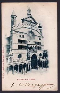 CREMONA-CARTOLINA-IL-DUOMO-FP-VG-1900-AMILCARE-GUARNERI