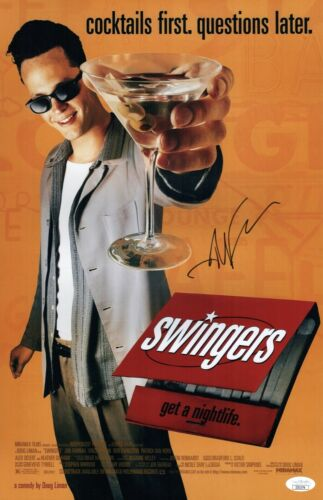 JON FAVREAU Signed SWINGERS 11x17 Photo In Person Autograph JSA COA Cert
