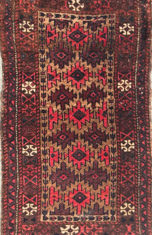 AN ATTRACTIVE ALL OVER DESIGN BALUCHSTAN TRIBAL RUG