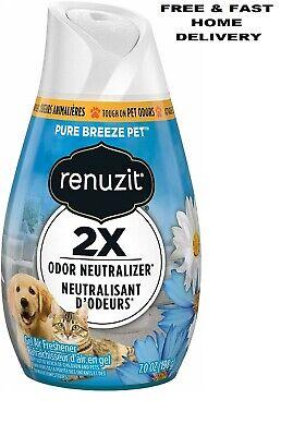 Renuzit Gel Air Freshener 7.0 Ounce, 1 Count Pure Breeze