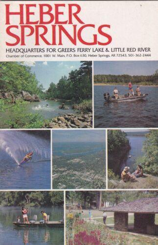 c1980 Heber Springs Arkansas Promotional Booklet