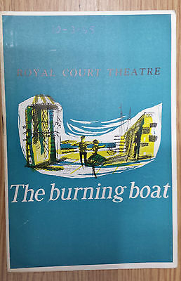 1955 Royal Court Theatre  - Bruce Tren - Marie Ney in THE BURNING BOAT