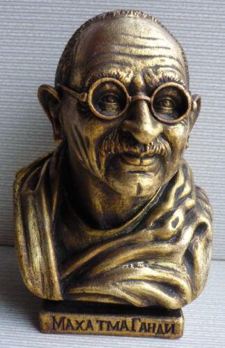 Original Political and Public figure Mahatma Gandhi bust statue
