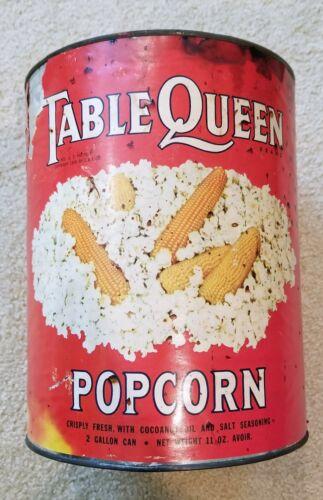 Vintage Popcorn Can