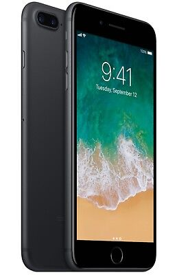 Apple iPhone 7 Plus - 32GB - Black (Factory Unlocked; GSM AT&T / T-Mobile)