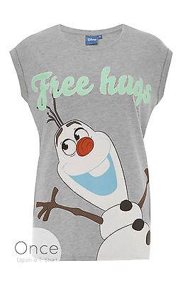 ney Frozen Olaf Free Hugs T-Shirt Primark (Disney Frozen Erwachsenen)