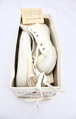 Vintage BALL BAND White HIGH TOP Sneakers NOS Girls Sz 12 1/2 1950s RARE