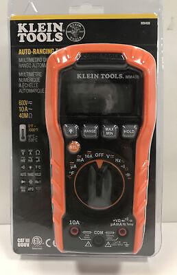 Klein Tools Mm400 600v Digital Multimeter - New - Sealed Upc0211