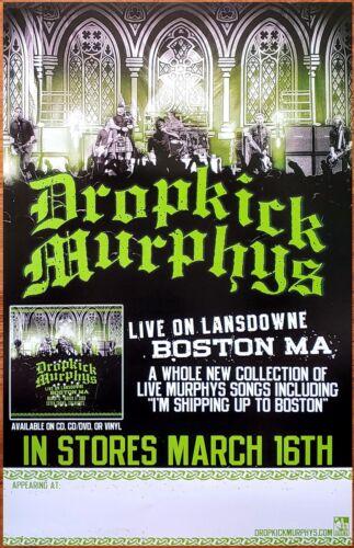DROPICK MURPHYS Live On Lansdowne New RARE Tour Poster +FREE Punk Rock Poster!