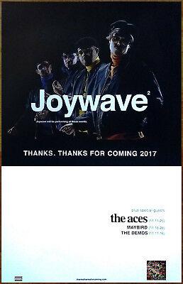 JOYWAVE Content 2017 Ltd Ed New RARE Poster +FREE Indie Rock Pop Dance Poster!