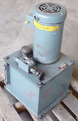 Parker Fluid Systems Hydraulic Power Unit Tank Capacity 10 Gallon 3hp