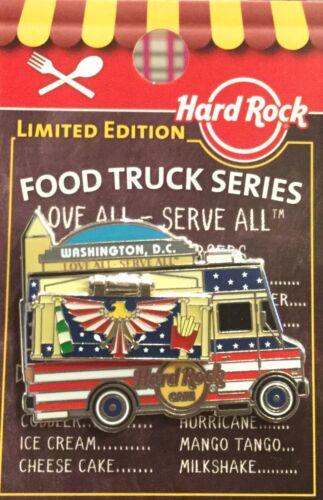 2019 HARD ROCK CAFE WASHINGTON DC FOOD TRUCK SERIES HINGE BALD EAGLE FLAG LE PIN