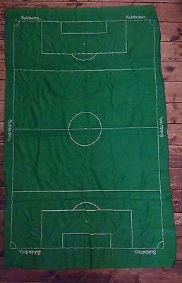 Subbuteo Table Football Green Nylon Pitch - From Set 60140