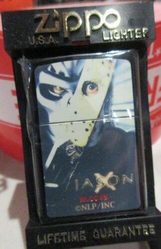 Friday 13th Jason X Zippo Lighter MIB Horror Film $148 FREE SHIPPING