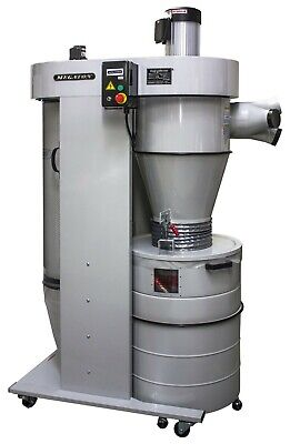Megaton Ub-3100veck 3 Hp 208v Cyclone Dust Collector