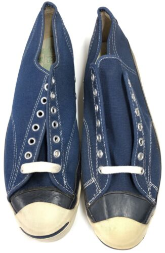 Jack Purcell Converse, Size 12 Mens Tennis Shoes / Sneakers Navy 7144 Vintage