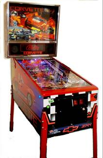 Pinball Machine Corvette Carlingford The Hills District Preview