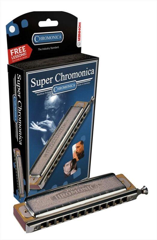 HOHNER harmonica Super Chromonica-270_X 270/48 key: G F/S NEW
