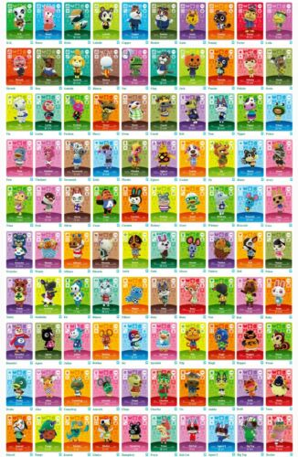 Animal Crossing Amiibo Cards - Series 2 (#101-200) BRAND NEW(USA Version)Mint