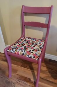 Refinished antique accent chair